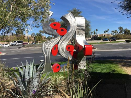 """Caught Up II""El Paseo Dr Palm Desert CA.8 feet tall"